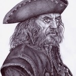 Fluch der Karibik (Fremde Gezeiten): Edward 'Blackbeard' Teach (Ian McShane)