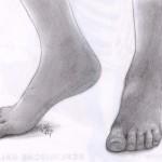 Männliche Füße