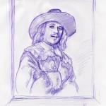 Mann in Renaissancetracht