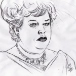 Titanic: Molly Brown (Kathy Bates)