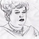 Titanic: Molly Brown (Kathy Bates)