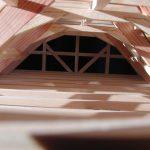 Blick durch das Dachgeschoss des Hauses aus Grebenau
