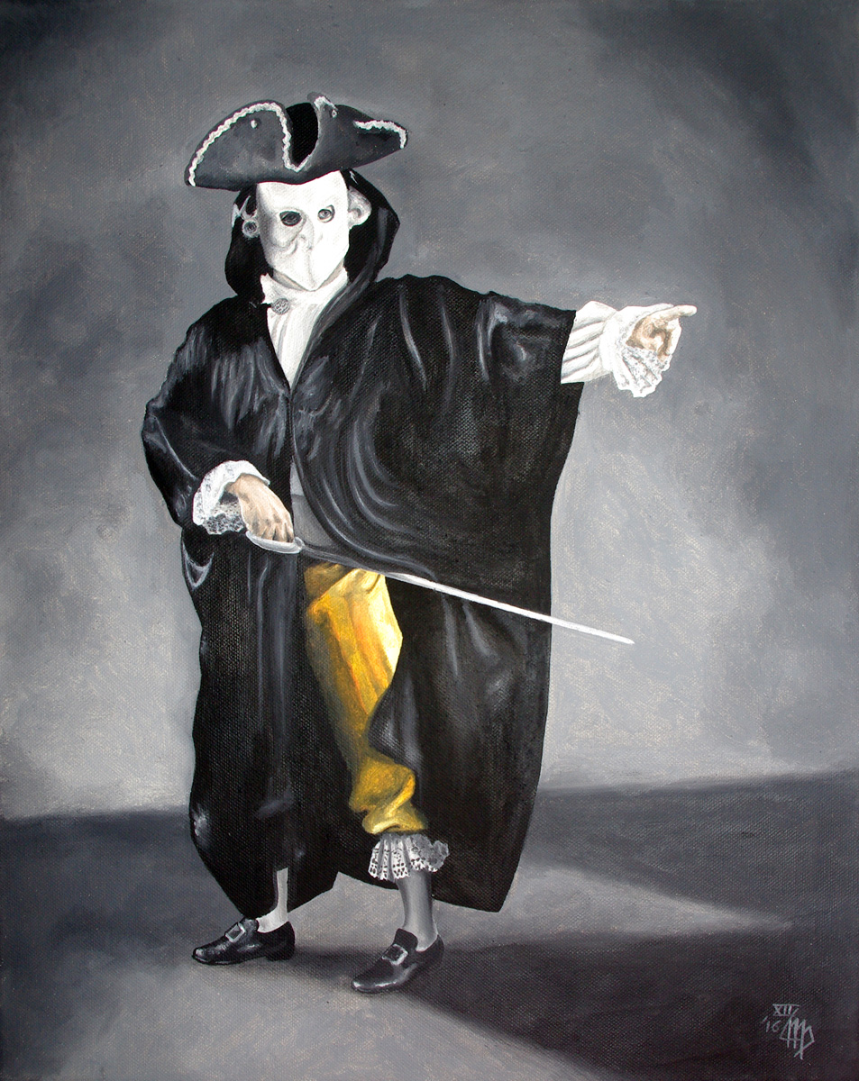 Holger Vandrich als Giacomo Casanova
