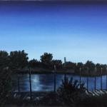 Blaue Stunde am Aasee