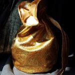 Goldener Beutel