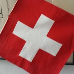 Schweizer Flagge am Nationalfeiertag