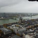 Blick über den Rhein vom südlichen Westturm des Domes (Köln)