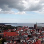 Blick über den Strelasund (Stralsund)