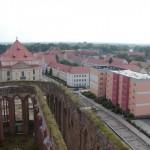 Blick über die Nikolaikirche (Zerbst)