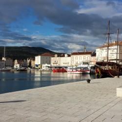 Hafen von Cres