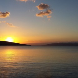 Sonnenuntergang über Cres