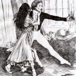 Margot Fonteyn und Rudolf Nurejew