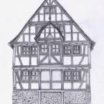 Fachwerkhaus 'Amtshaus aus Hungen'