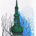 Turm der Nikolaikirche (Greifswald)