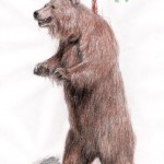 Grizzlybär (Ursus arctos horribilis)