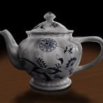 Kaffeekanne 'Zwiebelmuster' (Blue Danube)