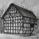 Fachwerkhaus 'Scheune aus Friedensdorf'
