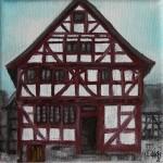 Fachwerkhaus 'Wohnhaus aus Grebenau'