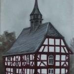 Fachwerkhaus 'Fachwerkkirche aus Niederhörlen'