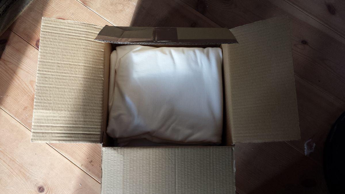 Die Kiste mit Jersey ist angekommen