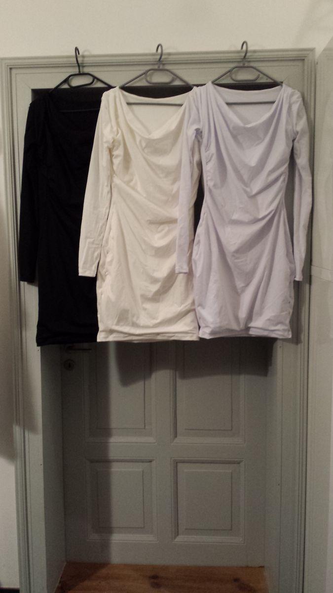 Die drei fertigen Kleider