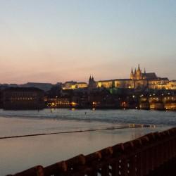 Blick zum Prager Schloss
