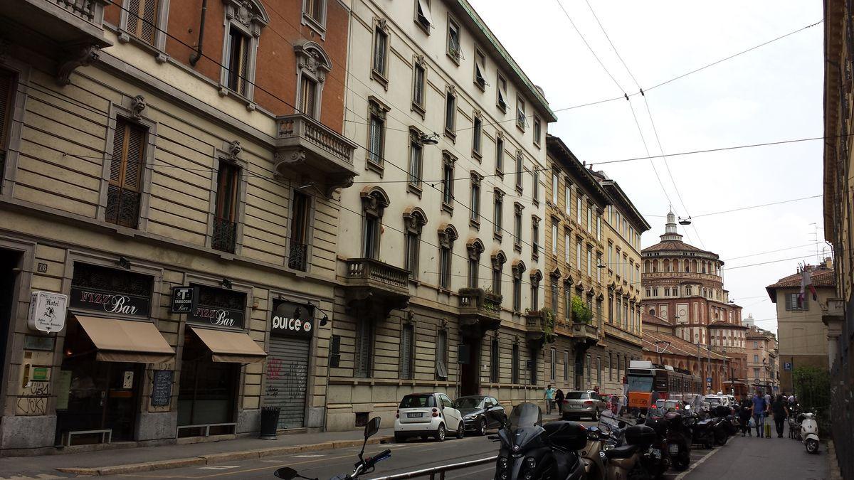 Straßenzug in Mailand