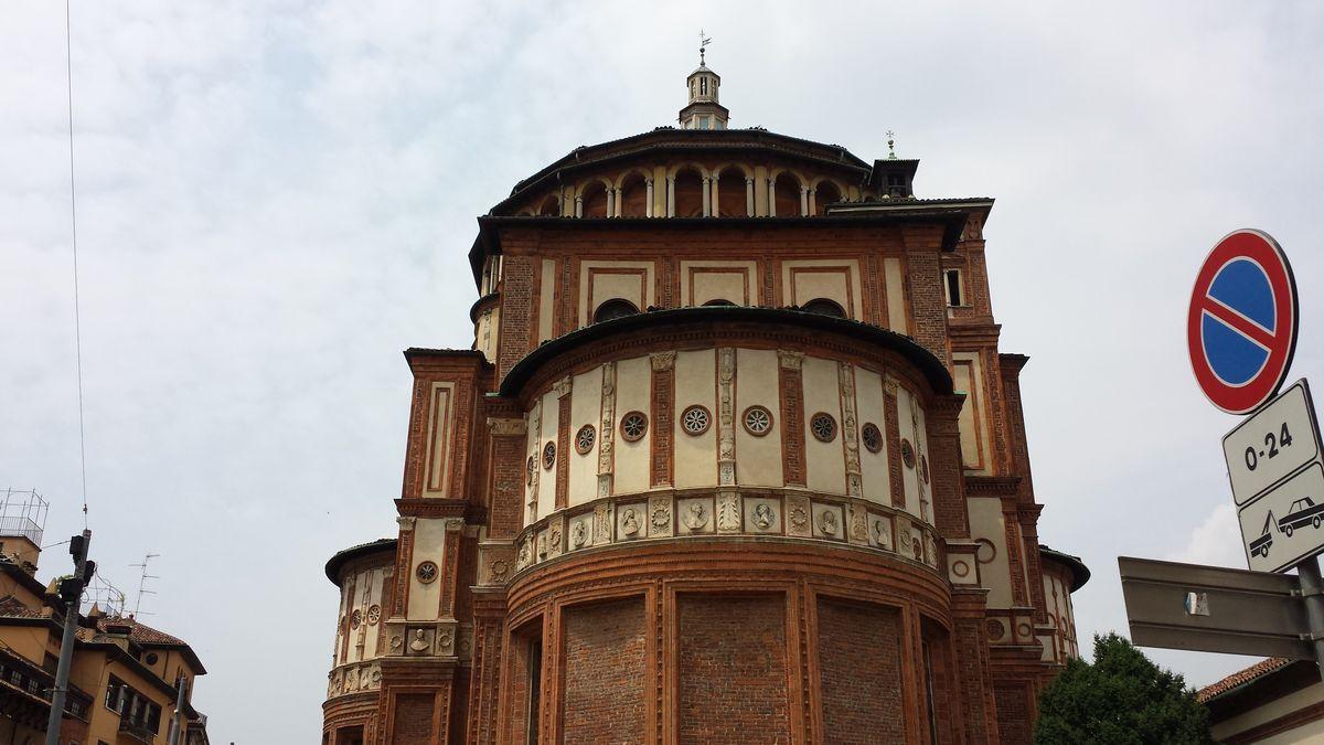 Apsis der Santa Maria delle Grazie