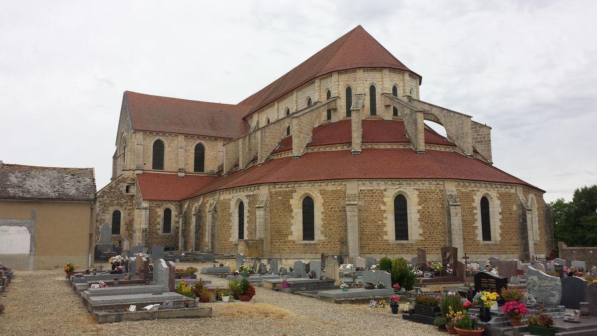 Chorbereich der Abbaye de Pontigny