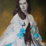 Franz Xaver Winterhalter: Portrait der Madame Barbe de Rimsky-Korsakov (1864)