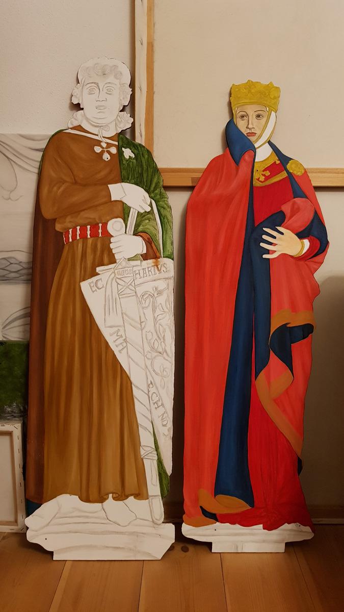 Ekkehard II., Markgraf von Meißen, und Uta von Ballenstedt