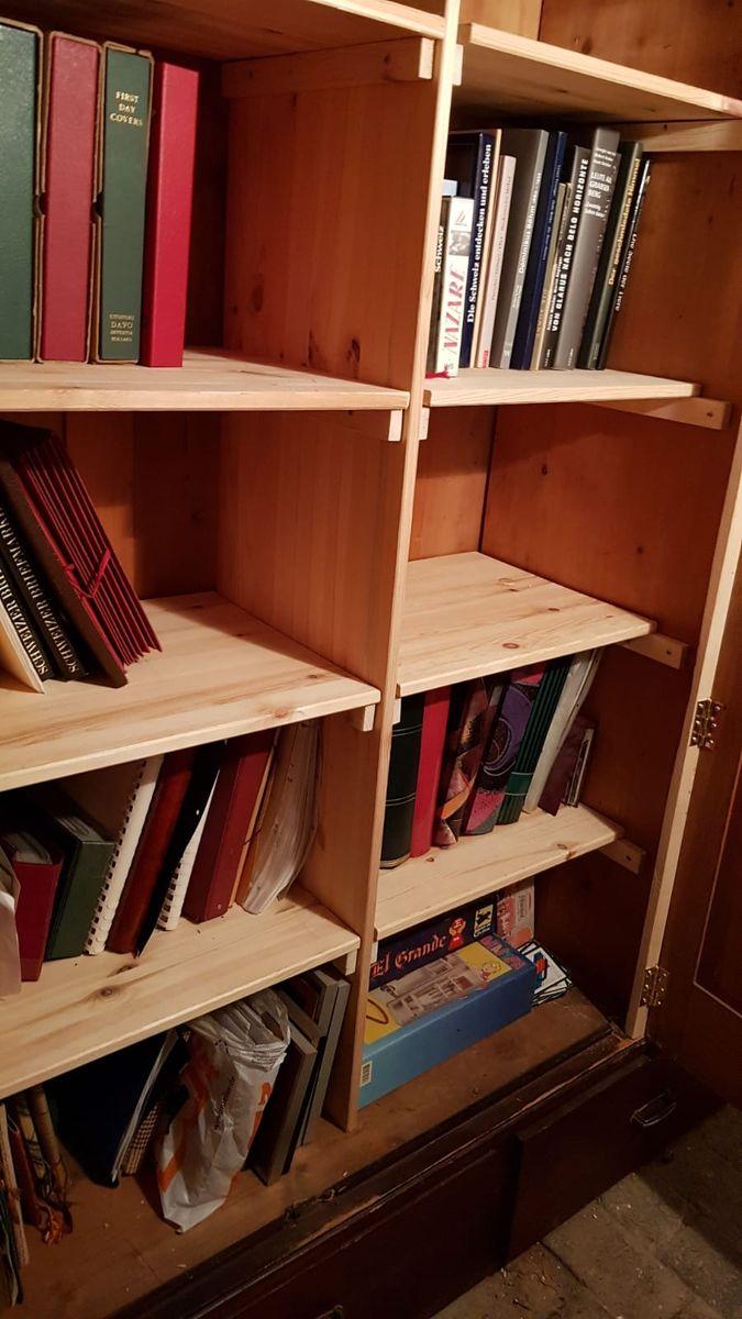 Hier passen noch ein paar Bücher rein