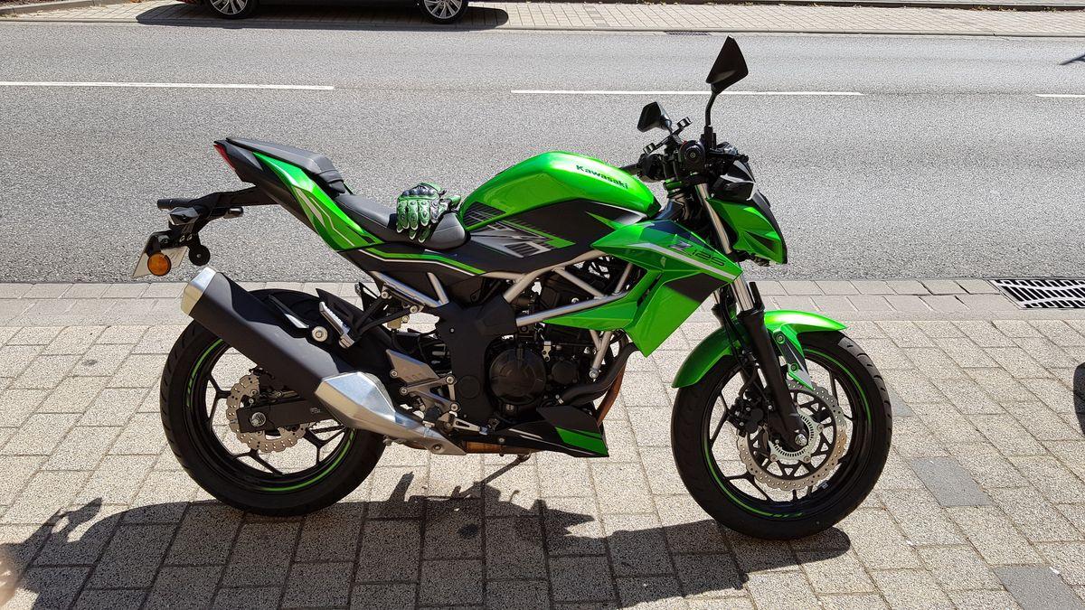 Kawasaki Z125 in Weißenfels